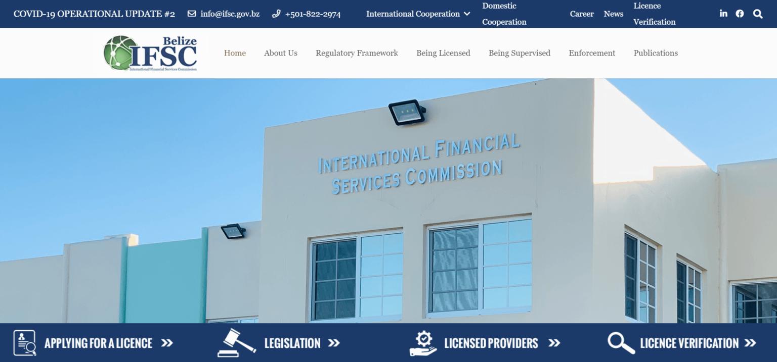 Belize financial regulator
